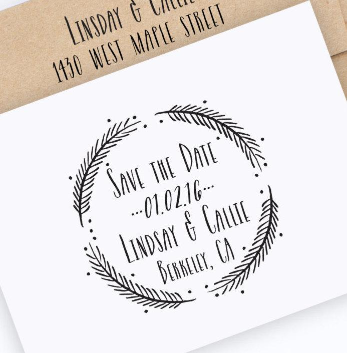 save-the-date-stamp-wedding-stamp-with-wreath-save-the-dates-wedding-stamp-with-names-and-date-custom-save-the-date-stamp-style-no-49w